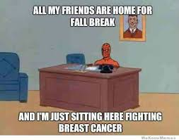 Spiderman Meme Cancer - in response to pornhub donating money for every boob video viewed