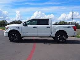 white nissan 2017 2017 nissan titan pro 4x in texas for sale 21 used cars from