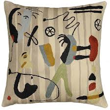 contemporary pillows for sofa cushions design miro faces beige tan camel ivory accent sofa