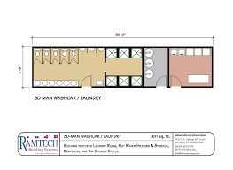 laundry floor plan permanent and relocatable commercial modular construction floor plans
