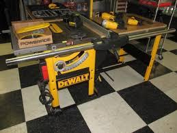 dewalt table saw dw746 dewalt dw746 10 table saw waccessories ext tab dw746 table saw