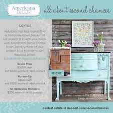 Americana Decor Chalky Paint Contest WOW – Country Design Home