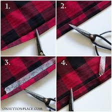 buffalo check table runner no sew buffalo plaid table runner on sutton place