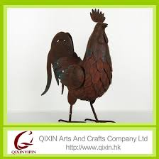 Home Decoration Accessories Ltd Home Decoration Accessories Vintage Rust Metal Rooster Craft Buy