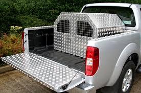 Truck Bed Dog Kennel Aluminium Dog Kennel Dog And Gundog Crates N U0026 J Aluminium