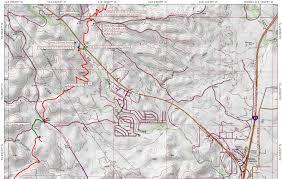 Map Of Prescott Arizona by Black Canyon Trail Coalition Black Canyon Trail Maps