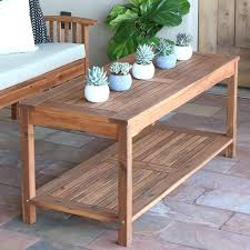 Diy Patio Coffee Table Patio Ideas Canvas Round Teak Patio Table Teak Outdoor Folding