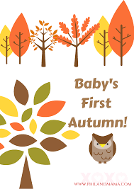 thanksgiving note baby u0027s first year series 1 free baby u0027s first halloween autumn
