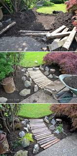 top 10 creative diy backyard projects wood pallet walkway