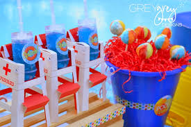 Pool Party Decoration Ideas Greygrey Designs My Parties Summer Pool Party By Greygrey