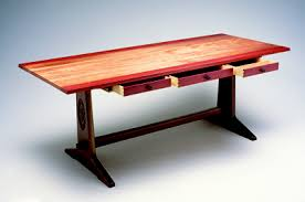 Design A Trestle Table Popular Woodworking Magazine - Trestle table design