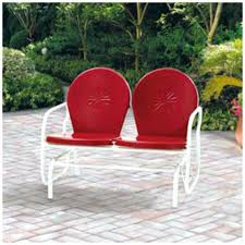 red outdoor rocking chair rocking chair mainstays outdoor rocking