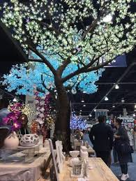 cherry blossom led light tree 9 ft free shipping
