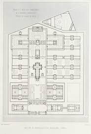 archi maps floor plan of the prison nanterre