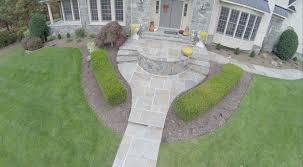 oakton va flagstone walkway and entrance design and construction