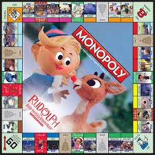 monopoly cards monopoly rudolph the nosed reindeer