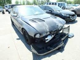 totaled for sale salvage bmw m5 cars for sale and auction