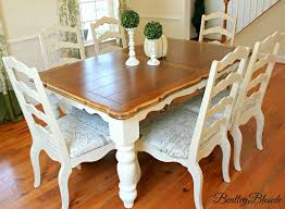 White Oak Rum On A Table Bentleyblonde Diy Farmhouse Table U0026 Dining Set Makeover With