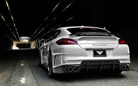 white porsche panamera white porsche panamera in the tunnel wallpapers and images