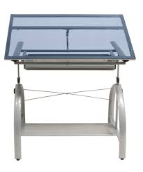 Drafting Table Glass Glass Top Drafting Table By Studio Designs 40 00 Shipping