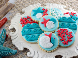 Nautical Themed Giveaways - easy nautical sea life cookies and giveaway semi sweet designs