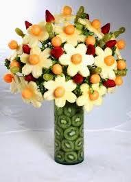 fruit flower arrangement fruits flower bouquet some and craft ideas