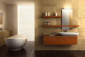 modern bathroom design ideas modern frameless mirror black and red