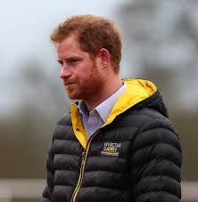 Prince Harry by Prince Harry In A Puffy Coat At The Uk Team Trials For The