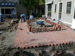 the garden renovation primer building a brick terrace old house