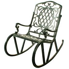 All Weather Rocking Chair Oakland Living Mississippi Patio Rocking Chair 2114 Ab The Home