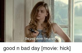 Hick Meme - do you think i m pret good n bad day movie hick bad day meme on