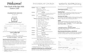 church programs template sle of church programs paso evolist co