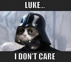luke i don t care meme boomsbeat