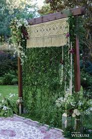 Wedding Trellis Flowers 33 Boho Wedding Arches Altars And Backdrops To Rock Crazyforus