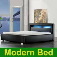 Twin Size Bedroom Furniture 2013 King Queen Twin Size Cool Modern Leather Bed Frame Bedroom