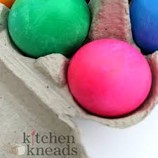 how to dye bright easter eggs kitchen kneads