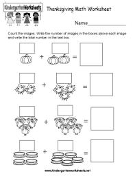 free kindergarten thanksgiving worksheets worksheets for a