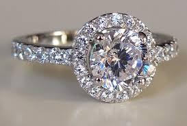 cheap diamond engagement rings for women free shipping luxury 1 carat simulated dia mond earrings women