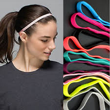 headbands sports aliexpress buy 1pcs thin sports elastic headband softball