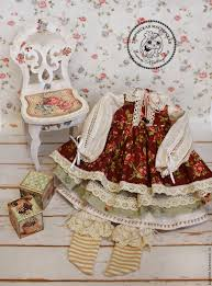 buy clothes for dolls clothing boho shabby chic on livemaster