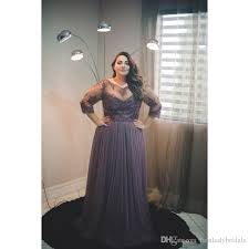 2017 plus size evening gowns dresses with sleeves a line tulle