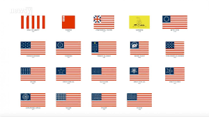 French And American Flags The Evolution Of Us Flags In 80 Seconds Youtube