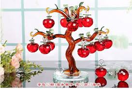 high grade wedding gifts apple tree ornaments living