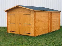 soubassement bois kit garage bois dorna 3 70x5 67m 21m2 abrirama do3554 abrirama fr