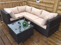 Rattan Table L Rattan Conservatory Or Outdoor Garden Furniture L Shape 5