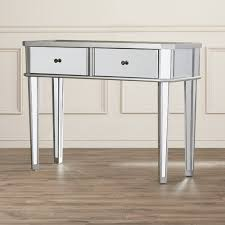 mirrored console table for sale found it at allmodern matteo mirrored console table entryway