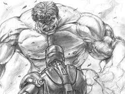 sketches hulk vs ironman sketch 1280x960 280664 sketches