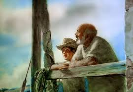 old man a beautifully hand painted animation of ernest hemingway s the old