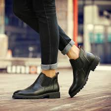 s boots casual autumn style 39 s chelsea boots luxury brand