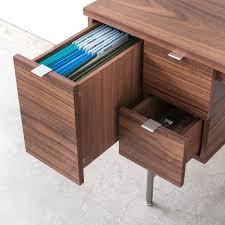 desk with file drawer modern desks from gusmodern design milk small desk with file drawer